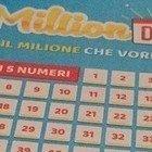 Million Day, i numeri vincenti di oggi lunedì 27 gennaio 2020