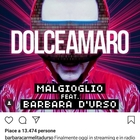 Cristiano Malgioglio e Barbara D'Urso in radio con Dolceamaro: «Sarà la hit dell'estate»