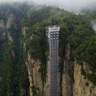 È l'ascensore più alto del mondo: il panorama è mozzafiato