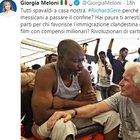 Richard Gere sulla Open Arms, Giorgia Meloni: «Perché non vai ad aiutare i messicani al confine?»