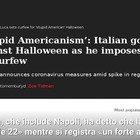 Vincenzo De Luca contro Halloween, il video ripreso dai media stranieri