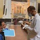 """Covid, Napoli: """"tampone solidale"""" nella basilica del rione Sanità"""