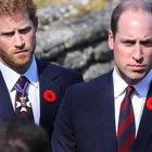 Principe Filippo, William e Harry insieme al funerale dell'amato nonno. I due fratelli non si vedono da circa un anno