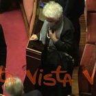 Segre vota fiducia a Governo Conte, scatta l'applauso in Aula
