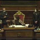 """Caos in Senato sul voto di Ciampolillo. Casellati: «Votazione chiusa». E chiede la """"Var"""""""