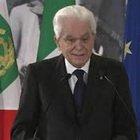"""Mattarella: """"Le libertà di cui godiamo sono frutto della resistenza"""""""