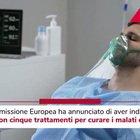 Covid, Ue annuncia 5 trattamenti anti virus