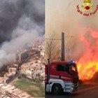 Catania devastata dagli incendi: case evacuate, lido distrutto. Aeroporto chiuso. Musumeci: «Carcere a vita per i piromani»
