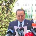 """Berlusconi: """"Pensiero va ai malati, ho condiviso sofferenza"""""""
