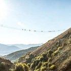 Basilicata da brividi, il ponte tibetano da non fare se soffri di vertigini