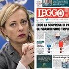 Meloni: «Italia campo profughi d'Europa»