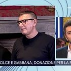 Coronavirus, Dolce e Gabbana a La Vita in Diretta: «Milano vuota è uno choc, ma non creiamo panico»