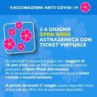 Lazio, Open Week Astrazeneca