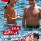 Eros Ramazzotti e Marica Pellegrinelli di nuovo insieme: un dettaglio sorprende