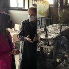 Incendio doloso al ristorante Portobello. Virginia Raggi incontra il proprietario: «La loro battaglia è la nostra»