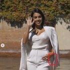 Georgina Rodriguez, la gaffe al Festival di Venezia: l'etichetta è ancora attaccata alla giacca