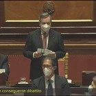 Draghi in Senato: «Ringrazio Conte, ha affrontato emergenza mai accaduta». Ma dall'aula arrivano fischi VIDEO