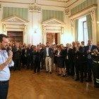 Matteo Salvini saluta i dipendenti del Viminale: «È solo un arrivederci»