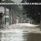 Maltempo in Germania e Belgio, ci sono morti e dispersi