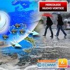 Meteo, le previsioni: maltempo, mezza Italia sott'acqua e neve sulle Alpi