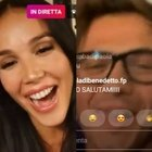 Paola Di Benedetto, la festa in diretta social con Fede, Andrea Denver e 54mila fan. «No comment su alcuni inquilini...»
