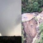 Maltempo in Lombardia, danni a edifici e coltivazioni. Si cerca ancora l'uomo disperso in provincia di Varese