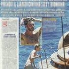 Stefano De Martino in barca con la bionda misteriosa (Nuovo)