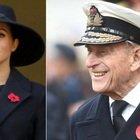 """Meghan Markle, """"accordi privati"""" per seguire il funerale del Principe Filippo"""