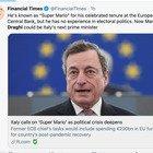 Mario Draghi, le reazioni dei giornali internazionali