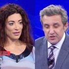"""Flavio Insinna, l'annuncio inaspettato all'Eredità: «Da oggi cambia tutto». """"Sparisce"""" la campionessa Martina Crocchia"""