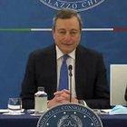 Mario Draghi: «Zona gialla si anticipa al 26 aprile, precedenza ad attività all'aperto»