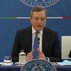 """Draghi: """"In zone gialla e arancione tutte le scuole riaprono in presenza"""""""