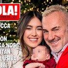 Gianluca Vacchi mostra la figlia Blu Jerusalema: «In futuro sarà operata, è nata con una malformazione al palato»