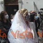 Matrimoni, a Montecitorio protesta del settore