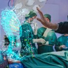 La sala operatoria diventa un'astronave
