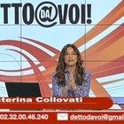 Caterina Collovati, telefonata choc in trasmissione: «A 17 anni mi hanno stuprata»