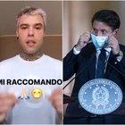 Conte chiama Chiara Ferragni e Fedez: «Aiutatemi a far indossare la mascherina ai ragazzi»