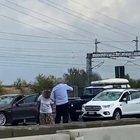 Grandinata sull'A1: centinaia di auto distrutte tra Fidenza e Fiorenzuola
