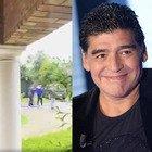 Maradona, l'ultimo video prima di morire e quel saluto speciale al bambino