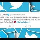 Morte Raffaella Carrà, i messaggi su Twitter dalla Pausini a Vasco