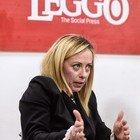 Giorgia Meloni ospite nella redazione di Leggo