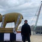 Striscia La Notizia, tapiro gigante alla Juventus per il flop SuperLega
