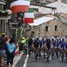 Giro d'Italia, spettacolo a Campo Felice: l'abruzzese Ciccone sfiora l'impresa