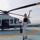 Georgina Rodriguez, a Sanremo in elicottero la fidanzata di Cristiano Ronaldo: «Ci siamo!». E Ronaldo sarà in prima fila all'Ariston