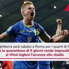 Euro 2020, Inghilterra a Roma per i quarti