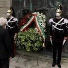 Primo maggio, Mattarella depone corona fiori davanti al monumento vittime del lavoro all'Inail