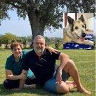 Benedetta Rossi, il marito Marco ricorda il cane scomparso: «Il buongiorno senza Nuvola è più triste»