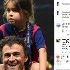 Morta la figlia di Luis Enrique, il messaggio commovente di Francesco Totti: «Riposa in pace piccola stella»