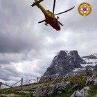Cade in cordata sul Gran Sasso, salvato alpinista umbro