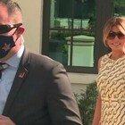 Melania Trump vota in Florida senza la mascherina FOTO